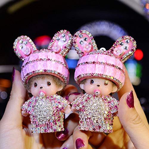 SGXDMxx Mengqiqi auto uitgang aroma auto airconditioning air clip auto parfum parfum auto accessoires dames 1