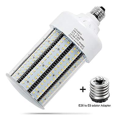 Garage led Light Bulb,50w led Corn Light Bulb E26 E39 Base,5000k, Led Replacement Incandesce CFL Metal Halide HID HPS lamp for Indoor Outdoor Garage Yard barn Warehouse Work Shop Gym