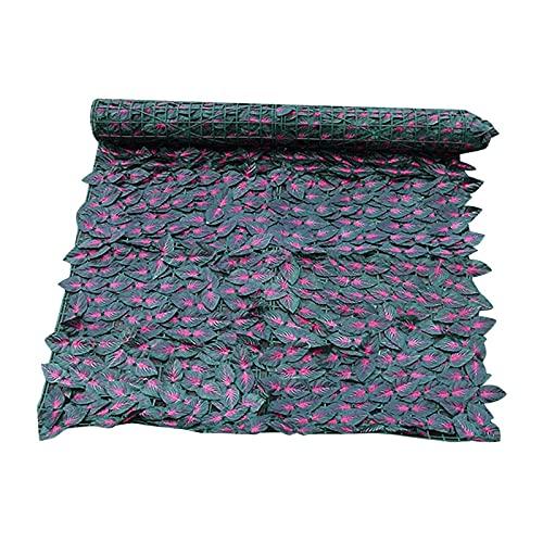 MSTSCKOWEPR Künstlicher Efeu Sichtschutzzaun, Künstlicher Heckenzaun, Heavy Duty Fechten Mesh Shade Net Cover, Für Outdoor Garten Dekor (Size : 0.5 * 3m)