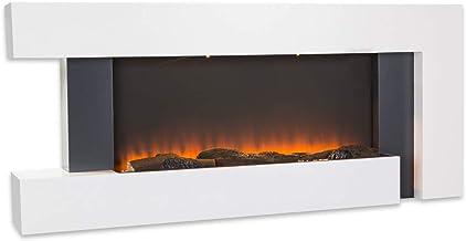 Camino elettrico, effetto fiamma, 1000/2000 watt, funzione timer, termostato, telecomando klarstein ACO7-90300-pitz