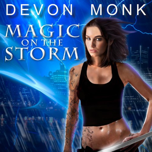 Magic on the Storm audiobook cover art