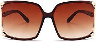 New Women's Oversized Square sunglasses Protection Eye Glasses With Case