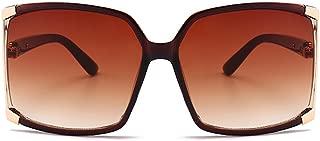 Newest Design Women's sunglasses UV Protection Oversized Square Sunglasses Case