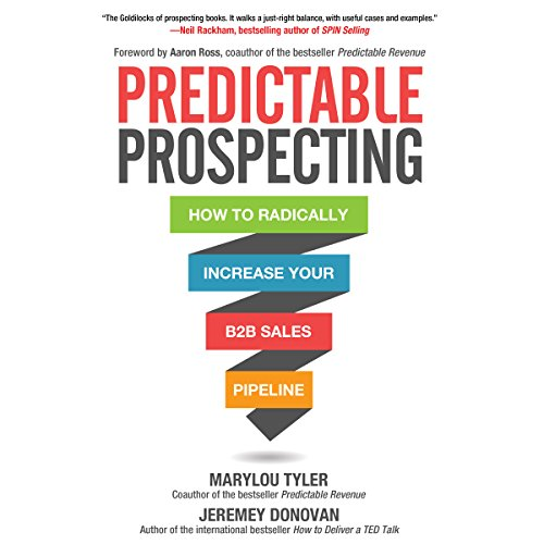 Predictable Prospecting audiobook cover art