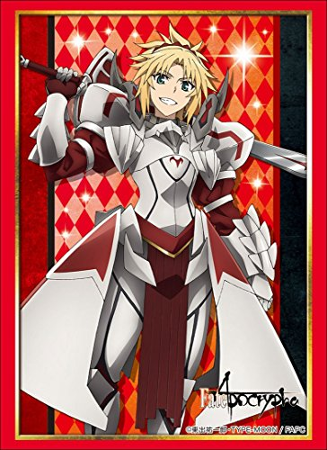Fate/Apocrypha Mordred Saber of Red Card Game Character Sleeves Collection High Grade HG Vol.1555 Anime Art image