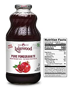 Pack of six, 32-ounce bottles (total of 192-ounces) 100 percent fruit juice Fresh pressed pomegranete juice