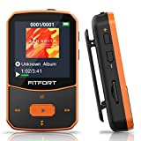 Reproductor MP3 Bluetooth 5.0 - MP3 Bluetooth Running, Sonido de Gama Alta, Radio FM, Grabación de...