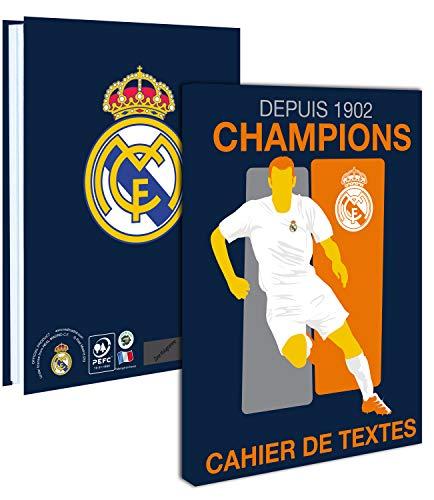 Cuaderno de texto Real Madrid