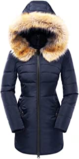 down filled coats ladies