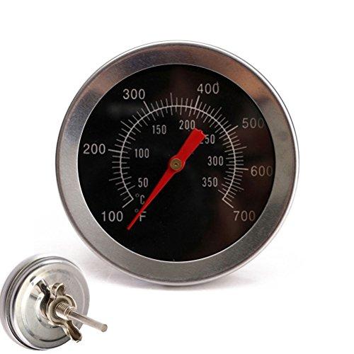 VORCOOL Acero Inoxidable Barbacoa Carne Dial Termómetro Parrilla Carne Dial Calibrador de Temperatura Cocina Sonda de Alimentos
