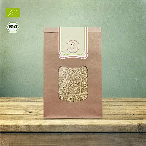 süssundclever.de® Bio Quinoa | weiß | 2 x 1 kg | unbehandelt | plastikfrei und ökologisch-nachhaltig abgepackt