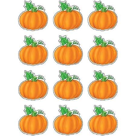 Teacher Created Resources Mini Accents, Pumpkins (5129),Orange
