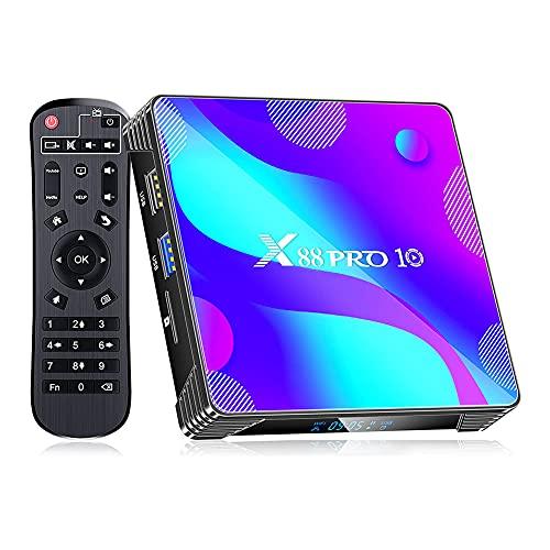 Android 11.0 Caja de TV Inteligente 2.4GHz / 5.8GHz Banda...