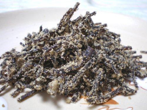 そのまま食べても甘くておいしい(甘塩昆布)沖縄県産黒砂糖入