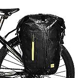 Selighting Bolsas Sillín Bicicleta Portaequipajes Alforjas Trasera para Bicicleta Impermeable y Multifunción Alforja Asiento Trasero Carrier para Ciclismo,Viaje 25L