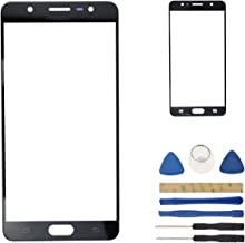 Black SM-G615F Outer Glass Screen Replacement Compatible with Samsung Galaxy J7 Max SM-G615F