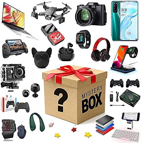 Caja de Suerte, Caja Sorpresa de Cumpleaños, Caja Misteriosa Electrónica, Caja Ciega Misteriosa, Posibilidad de Abrir: Teléfono Móvil, Mandos para Juegos, Cámaras Digitales