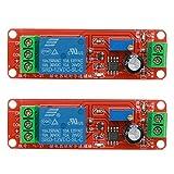 TOOGOO Ne555 Interruptor De Temporizador De Escudo De Rele De Retardo De Rele De Retardo De Modulo 12~10S