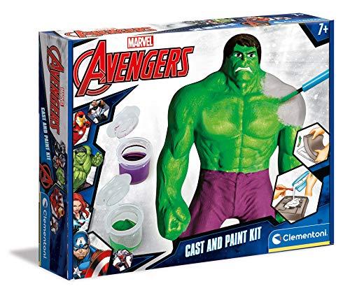 Clementoni-17647 - La fuerza del Increíble Hulk - juego creativo a partir de 6 años