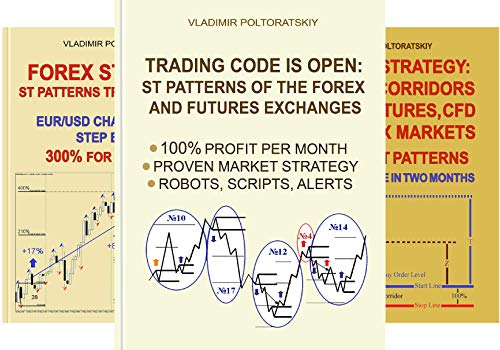 Forex Trading Strategies, Futures, CFD, Bitcoin, Stocks, Commodities (4 Book Series)