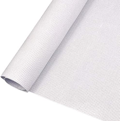 1 Pieces Aida Cloth 14 Count White Cross Stitch Fabric Classic Reserve 59 by 31 Inch Big Size product image