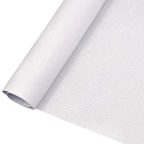 1 Pieces Aida Cloth 14 Count White Cross Stitch Fabric Classic Reserve 59 by 31 Inch Big Size