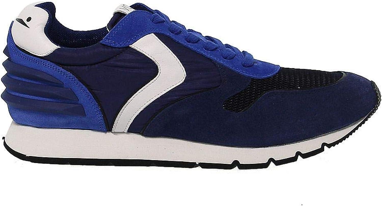 VOILE VOILE VOILE BLANCHE Herren 9113BLU Blau Stoff Sneakers B07MKCKJRT  0161fe