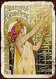 DGBELL French Absinthe Retro Wand Dekoration Zinn Zeichen