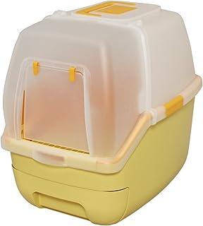 アイリスオーヤマ システムトイレ用 楽ちん猫トイレ フード付きセット オレンジ