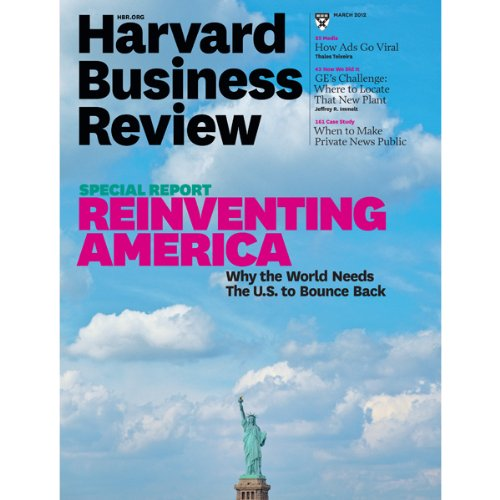 Harvard Business Review, March 2012 audiobook cover art