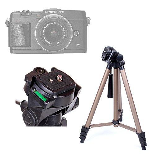 DURAGADGET Trípode Ligero De Calidad Profesional para La Cámara Nikon D Series D5300 AF-S DX con Nivel De Burbuja