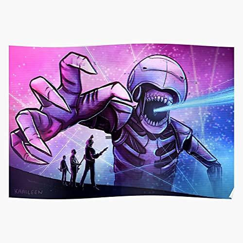 Générique Matt Band Retro Music Muse Bellamy Simulation Theory Murph Affiche d'impression d'art de Mur de décor à la Maison !
