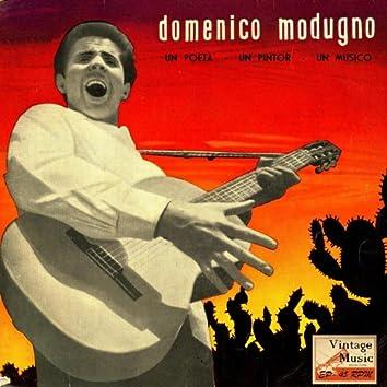 """Vintage Italian Song Nº4 - EPs Collectors """"Domenico Modugno, Un Poeta, Un Pintor, Un Músico"""""""