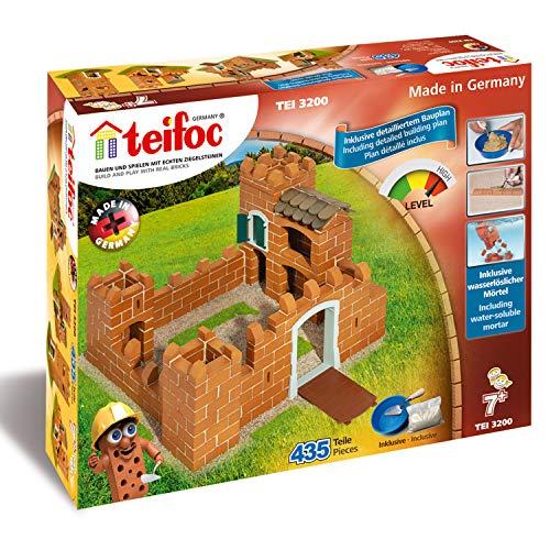 Teifoc Ladrillo Construction-Knight's Castle, Castillo (Eitech T3200)