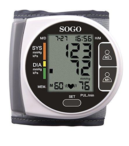 Sogo SS-14020 - Tensiómetro digital de muñeca