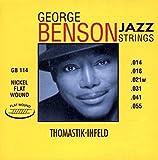 Thomastik single string E .053rw nickel flat wound GR53 for Electric Guitar George Benson Jazz set GR112