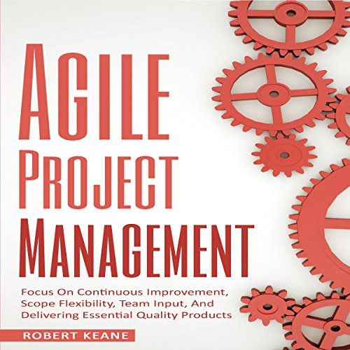 Agile Project Management audiobook cover art