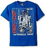 Star Wars Boys' Big R2d2 Astromech Droid Graphic Tee, royal, YL