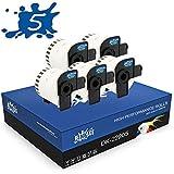 RINKLEE DK-22205 Etiquetas Continuas Compatible para Brother P-Touch QL-500 QL-550 QL-560 QL-570 QL-700 QL-710W QL-720NW QL-800 QL-810W QL-820NWB QL-1060N QL-1110NWB   62 mm x 30.48 m   5 Rollos
