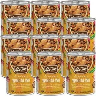 Merrick Grain Free Wet Dog Food, 12.7 oz, Case of 12