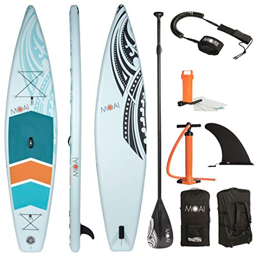 MOAI Touring SUP Hinchable: Stand Up Paddle Board 126