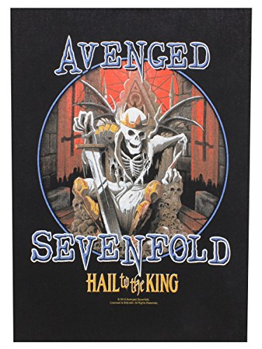 AVENGED SEVENFOLD HAIL TO THE KING Backpatch
