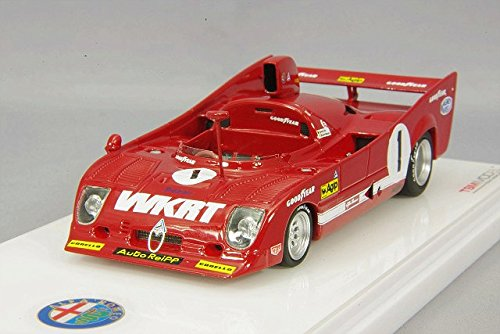 Truescale Miniatures- Miniature Voiture de Collection, TSM164309, Rouge/Blanc