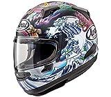 Arai Quantum-X Oriental Adult Street Motorcycle Helmet - Black Frost/Medium