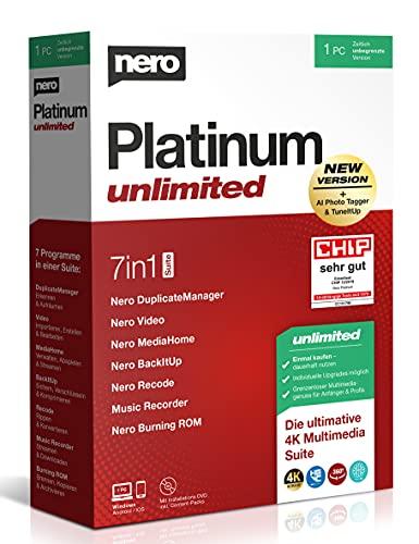Nero Platinum Unli Bild
