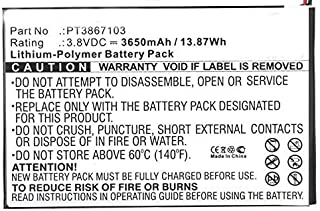 "Synergy Digital Synergy Digital Battery Compatible with RCA 7"" Tablet Battery (Li-Pol, 3.8V, 3650 mAh) - Repl. RCA PT38671..."