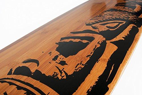 Vevendo Mike Jucker Hawaii - Longboard Makaha in bambù