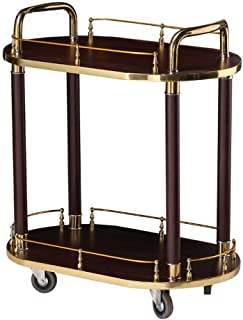 Drinks Trolley On Wheels Fully Assembled, Liquor Trolley   Serving Trolley for 5 Star Hotel and Club Bar Cart Drinks Servi...