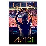 WPQL Avicii Musikalbum, Poster, Leinwand, Kunstdruck,