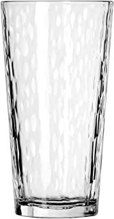 Libbey DuraTuff Hammered Casual Cooler Glass, 20 Ounce - 12 per case